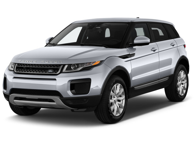 2019 Land Rover Range Rover Evoque 5 Door SE Angular Front Exterior View