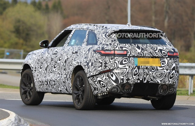 land rover defender 2018 spy shots. perfect defender 2019 land rover range velar svr spy shots  image via s baldauf with land rover defender 2018 r