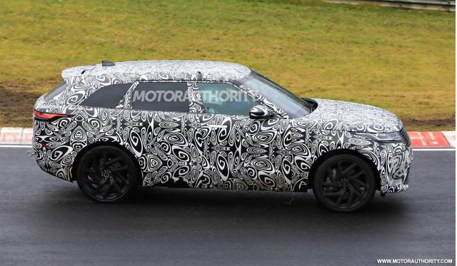 2019 Land Rover Range Rover Velar SVR spy shots - Image via S. Baldauf/SB-Medien