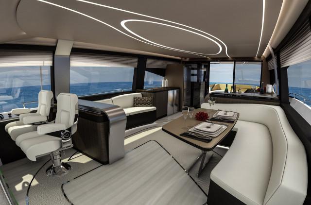 2019 Lexus LY 650 yacht