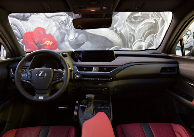 Lexus Ux Suv >> 2019 Lexus Ux Small Suv Emerges In Us Trim Hybrid Included At Ny