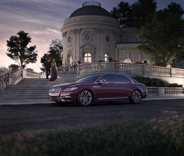 Lincoln Continental recalled for doors that may fly open while driving