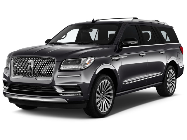 2019 Lincoln Navigator L Reserve 4x4 Angular Front Exterior View