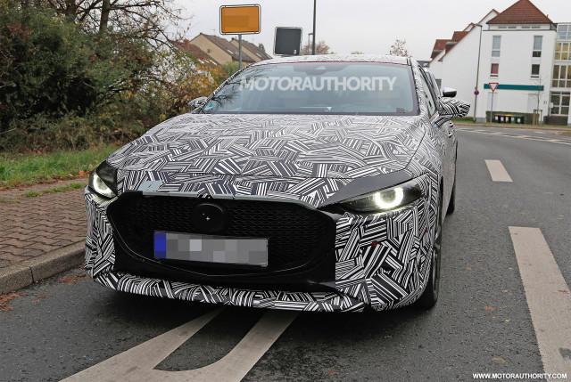 2019 Mazda 3 hatchback spy shots - Image via S. Baldauf/SB-Medien