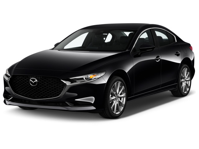 2019 Mazda Mazda3 4-Door AWD w/Premium Pkg Angular Front Exterior View