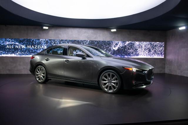 2019 Mazda 3, 2018 LA Auto Show