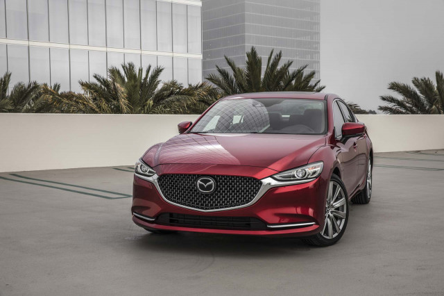 2019 Mazda 6 crash tested, earns Top Safety Pick award