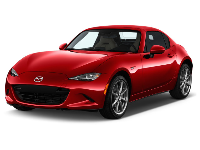 2019 Mazda MX-5 Miata RF Grand Touring Auto Angular Front Exterior View