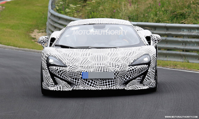 2019 Mclaren 600lt Spy Shots Car News Reviews Pricing For New