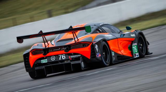 2019 McLaren 720S GT3 race car