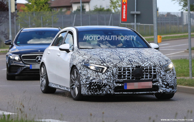 2020 Mercedes Amg A45 Hatchback Spy Shots And Video