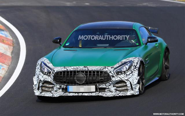 2020 Mercedes-AMG GT R 'Clubsport' spy shots - Image via S. Baldauf/SB-Medien