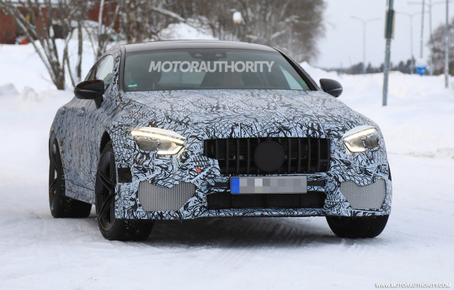 2019 Mercedes-AMG GT sedan spy shots - Image via S. Baldauf/SB-Medien