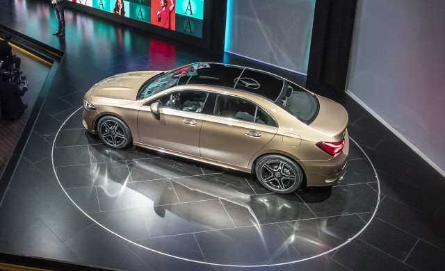 New mercedes benz a class sedan officially revealed for Mercedes benz global