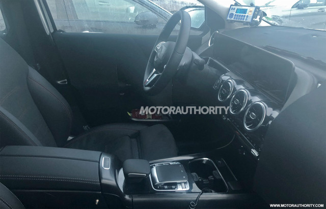 2019 mercedes benz b class spy shots and video. Black Bedroom Furniture Sets. Home Design Ideas