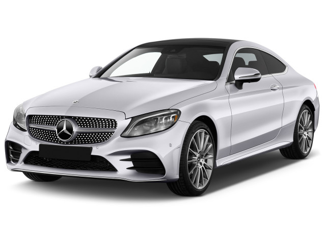 2019 Mercedes-Benz C Class C 300 4MATIC Coupe Angular Front Exterior View