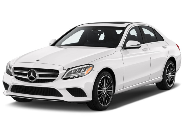 2019 Mercedes-Benz C Class C 300 Sedan Angular Front Exterior View