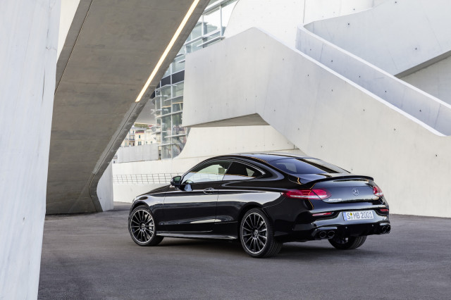 Exceptional 2019 Mercedes Benz C Class Coupe