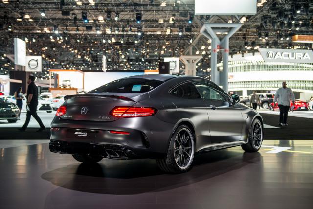 2019 Mercedes-AMG C63, 2018 New York auto show
