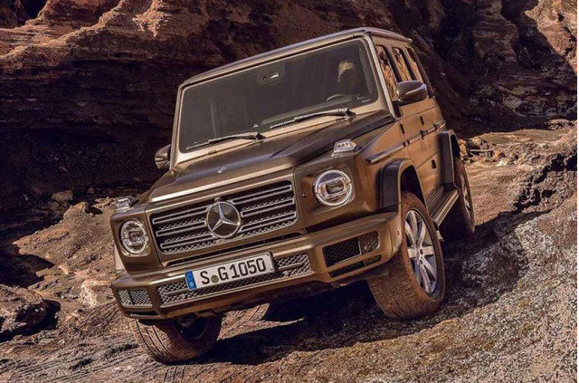 Mercedes-Benz G-Class a Lot Like Old G-Class, Now Bigger
