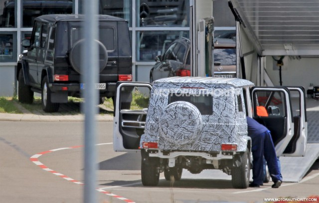 land rover defender 2018 spy shots.  defender 2019 mercedesbenz gclass spy shots  image via s baldauf with land rover defender 2018
