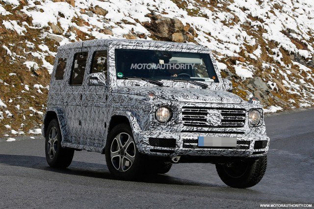 redesigned g class will have just 1 exterior part in common with