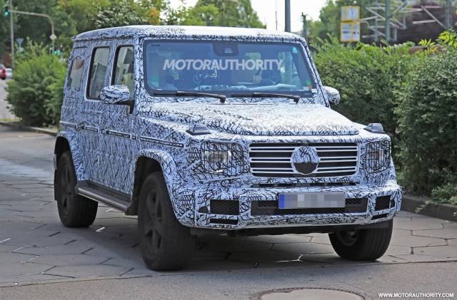 Wonderful 2019 Mercedes Benz G Class Spy Shots   Image Via S. Baldauf/