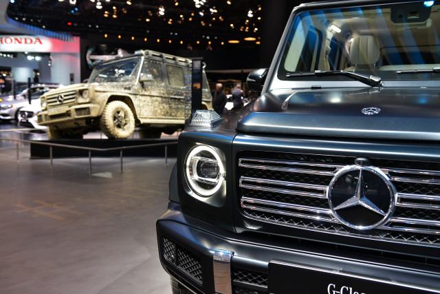 2019 Mercedes-Benz G Class, 2018 Detroit auto show