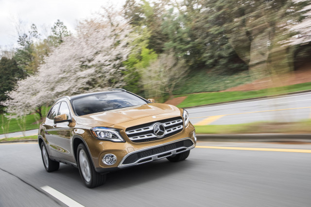 2019 mercedes benz gla class review ratings specs prices and photos the car connection. Black Bedroom Furniture Sets. Home Design Ideas
