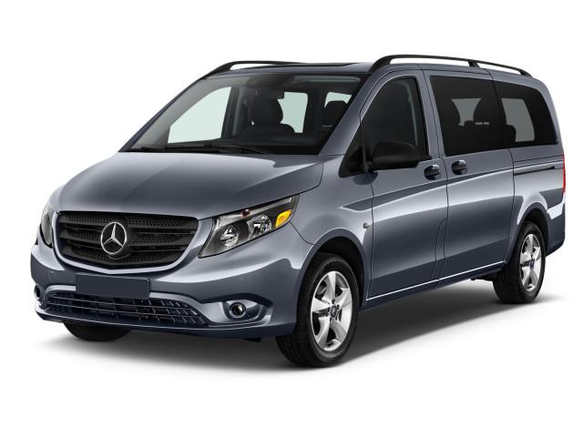 """2019 Mercedes-Benz Metris Standard Roof 126"""" Wheelbase Angular Front Exterior View"""