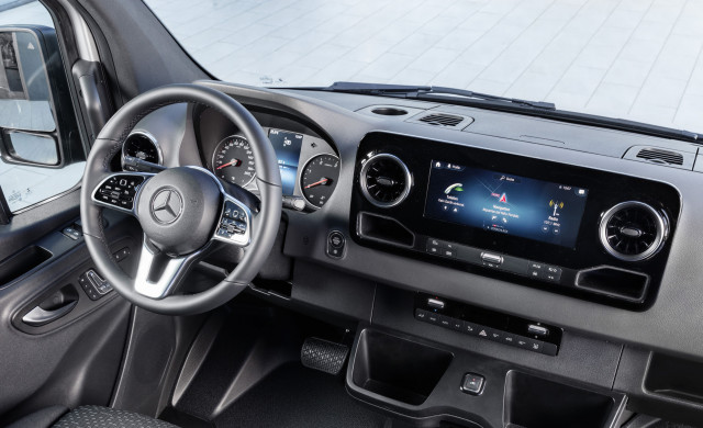 Redesigned 2019 Mercedes Benz Sprinter Van To Cost 34 985