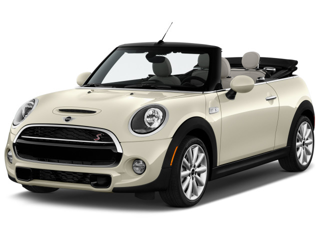 2019 Mini Convertible Cooper S Fwd Angular Front Exterior View
