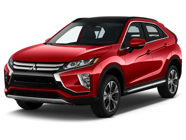 2019 Mitsubishi Eclipse Cross SEL S-AWC Angular Front Exterior View
