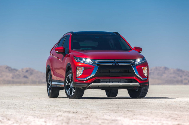 Mitsubishi Eclipse Cross earns IIHS award