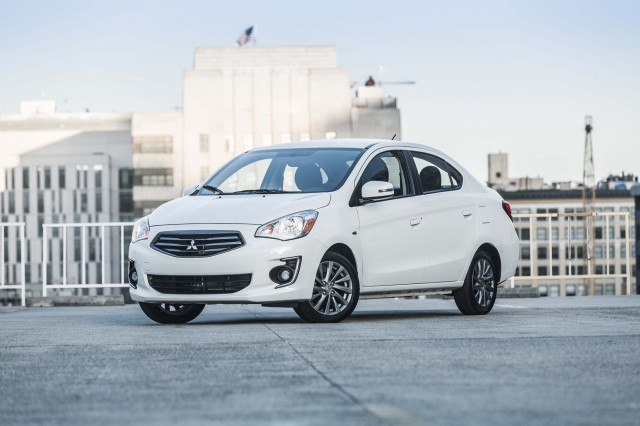 2019 Mitsubishi Mirage Vs Chevrolet Spark, Hyundai Accent