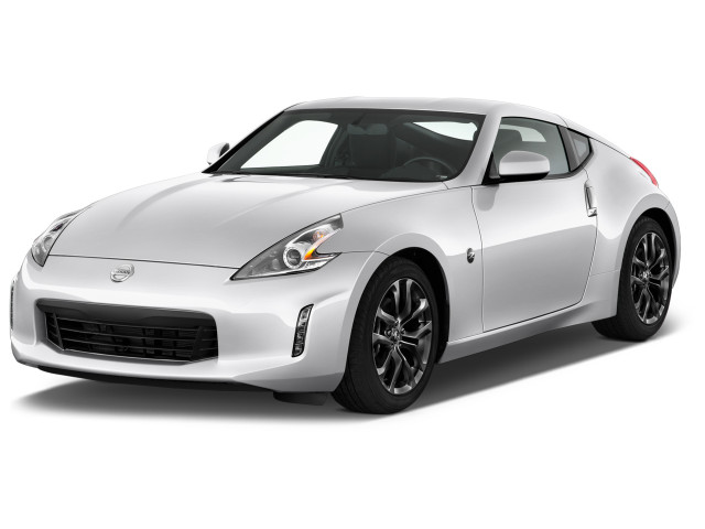 2019 Nissan 370Z Coupe Auto Angular Front Exterior View
