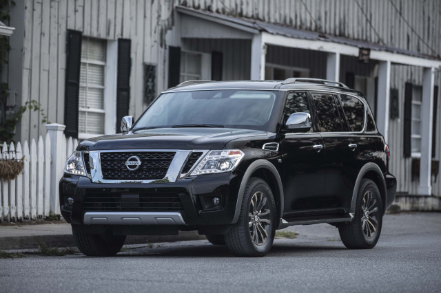 2019 Nissan Armada SUV's price climbs to $48,185 thanks to new active safety tech