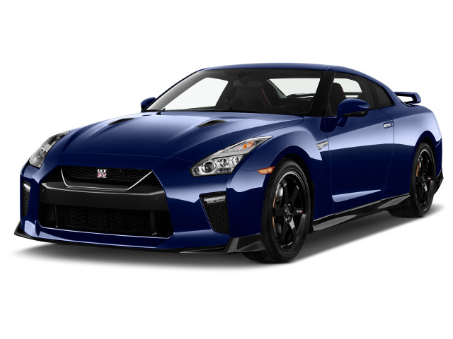 2019 Nissan GT-R Track Edition AWD Angular Front Exterior View