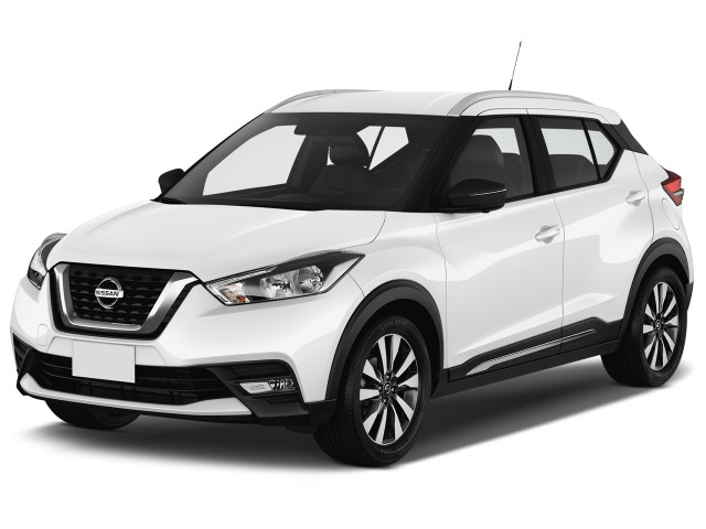 2019 Nissan Kicks SR FWD Angular Front Exterior View