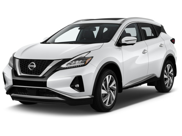 2019 Nissan Murano AWD SL Angular Front Exterior View