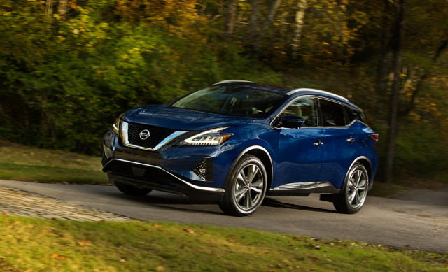 Nissan Murano has received a stylish update