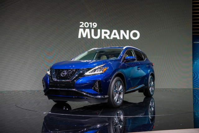 2019 Nissan Murano, Maxima debut with updated look