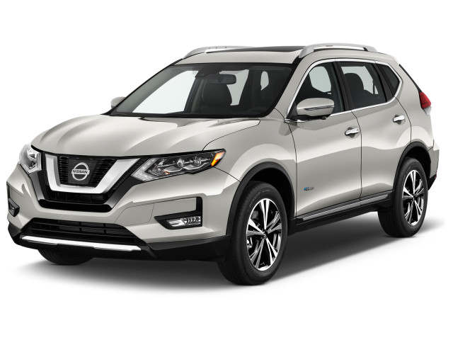 2019 Nissan Rogue FWD SL Hybrid Angular Front Exterior View