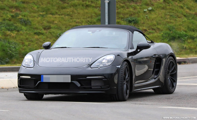 porsche cayman winter driving with 1113854 2019 Porsche 718 Boxster Spyder Spy Shots on 1955 Porsche 356 Speedster Barn Find Lands On Ebay But You Wont Like The Price Photo Gallery 102480 likewise Robb Report Magazine Names Ferrari F12 Berli ta Top Buy 2014 furthermore Schneider Sweeps Stuttgart Cup Sebring Historics Riddell Mccall Take Sportsman Enduro Win together with 2017 Porsche 911 Turbo Turbo S Bring Their Anti Lag Tech Wizardry To Detroit Live Photos 103566 together with Volkswagen Golf 8 Could Have A Targa Version 94921.