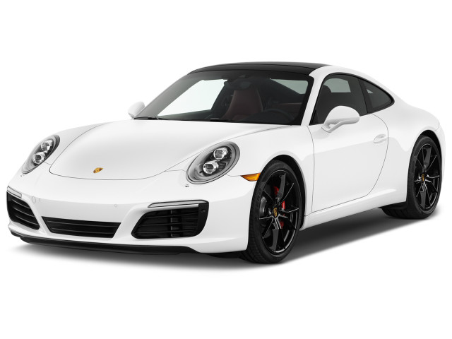2019 Porsche 911 Carrera S Coupe Angular Front Exterior View