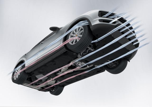 2019 Porsche Cayenne aerodynamics