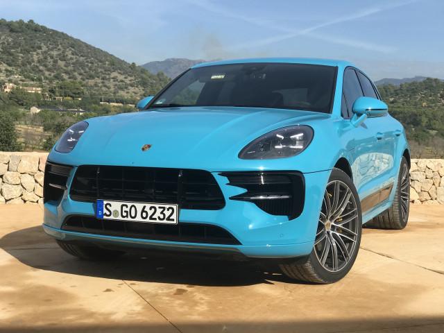 2019 Porsche Macan media drive, Mallorca, Spain, November 2018