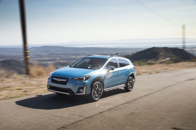 2019 Subaru Crosstrek Hybrid  -  First Drive, Santa Barbara CA, Nov. 2019