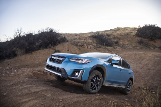 2019 Subaru Crosstrek Hybrid earns coveted Top Safety Pick+