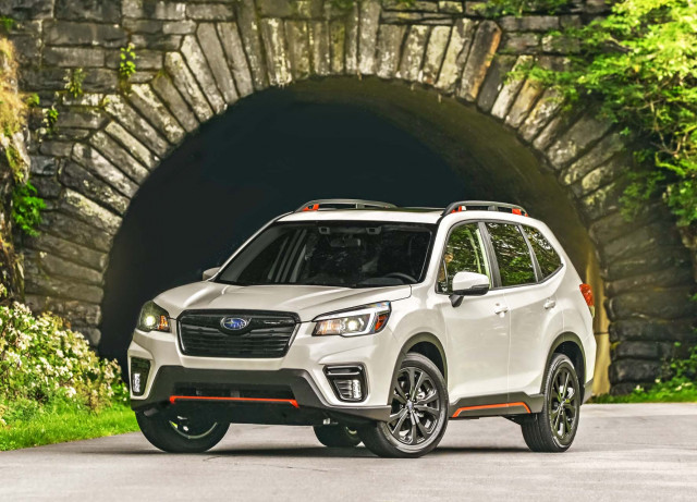 2019 Subaru Forester Vs 2020 Subaru Outback Compare Crossovers
